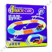 Светящийся автотрек - TRACK CAR, 80 деталей, оптом