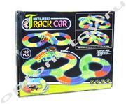 Светящийся автотрек - TRACK CAR, 150 деталей, оптом