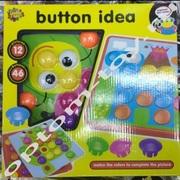 Детская развивающая мозаика для малышей BUTTON IDEA оптом