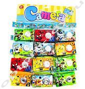 Детские фотокамеры CAMERA, набор 12 шт., оптом