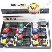 Детские машинки DIE CAST CAR, набор 12 шт., оптом