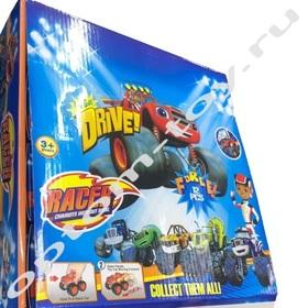 Детские машинки ВСПЫШ / DRIVE RACER, набор 12 шт., оптом