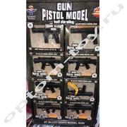 Детские автоматы GUN PISTOL MODEL, набор 8 шт., оптом