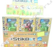 Анимационные фигурки STIKBOT, набор 18 шт., оптом