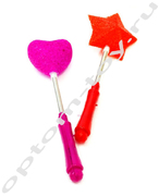 Игрушки - фигурки, светящиеся на палочке, набор 12 шт., оптом
