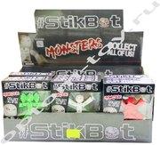 Игрушка стикбот MONSTERS, набор 24 шт., оптом