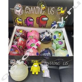 Игрушки АМОНГ АС / AMONG US в шаре, набор 12 шт., оптом