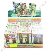 Игрушки из мультфильма ЛЕО И ТИГ, набор 12 шт., оптом