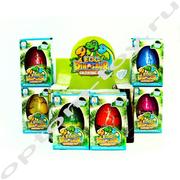 Игрушки из яиц EGG DINOSAUR, набор 6 шт., оптом