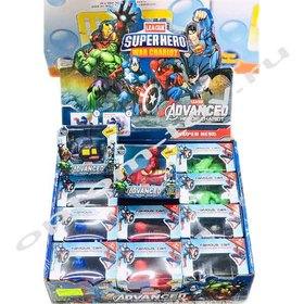 Игрушки супергерои SUPERHERO, в наборе 12 шт., оптом
