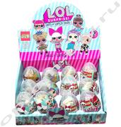 Игрушки в яйце ЛОЛ, набор 12 шт., оптом