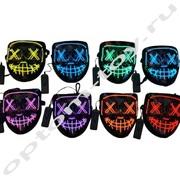 Светящиеся маски PARTYBOOM оптом