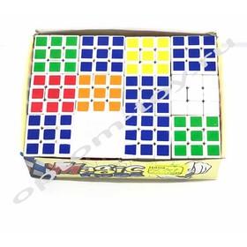 Кубик Рубика MAGIC CUBE, набор 12 шт., оптом