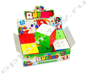 Кубик РУБИКА - RUBIKS, набор 6 шт., оптом