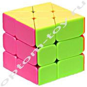 Кубик РУБИКА, 6 см., набор 6 шт., оптом