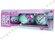 Куклы - ЛОЛ, набор, 3 шт., 2 серия, оптом