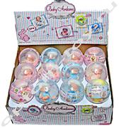 Куклы в шаре BABY ARDANA, набор 12 шт., оптом