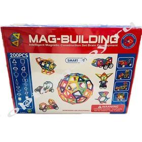 Магнитный конструктор MAG BUILDING, 200 деталей, оптом