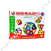 Магнитный конструктор - MAG-BUILDING, 20 деталей, оптом