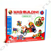 Магнитный конструктор - MAG-BUILDING, 56 деталей, оптом
