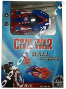 Антигравитационная машинка WALL CLIMBER MARVEL, оптом