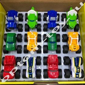 Машинки для детей ВСПЫШ, набор 12 шт., оптом
