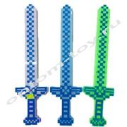 Светящийся пикселный меч Майнкрафт, набор 6 шт., оптом