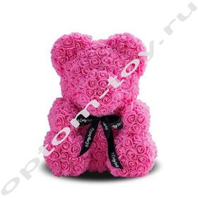 Мишка из роз, 40 см., оптом