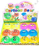 Набор слаймов CARTOON BEAR, набор 12 шт., оптом