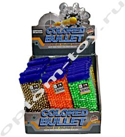 Пластиковые пульки COLORED BULLET, для детского оружия, набор 24 шт., оптом