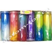 Перламутровые двухцветные слаймы в колбе, в наборе 6 шт., оптом