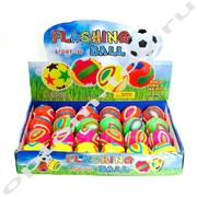 Светящиеся мячики FLASHING BALL, набор 24 шт., оптом