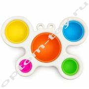 Игрушка-антистресс СИМПЛ ДИМПЛ БАБОЧКА, набор 10 шт., оптом