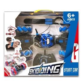 Машинка перевертыш Stunt Car SKIDDING оптом