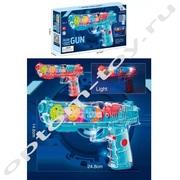 Детский механический пистолет GEAR LIGHT GUN оптом