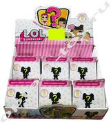 Игрушка сюрприз в коробке ЛОЛ, набор 6 шт., оптом