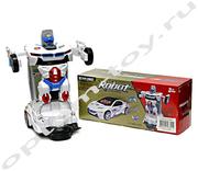 Машинка трансформер - ROBOT DEFORM, оптом