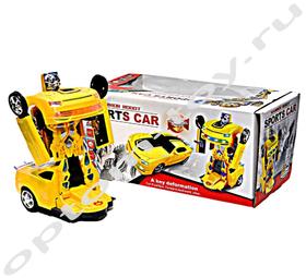 Машинка трансформер SPORTS CAR, оптом