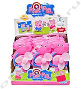 Ручной вентилятор PINK PIG, набор 12 шт., оптом